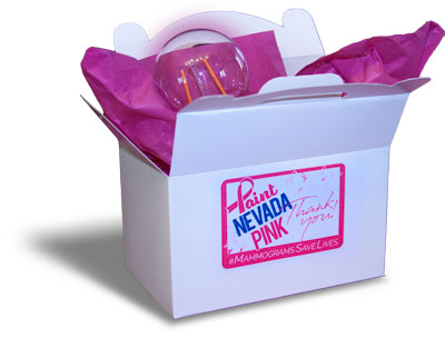 Paint Nevada Pink - Free Donation Gift